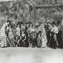 Image of Performers in Pioneer Days Parade - undated