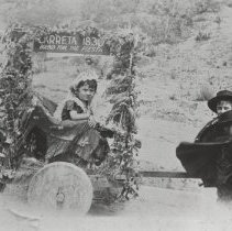 Image of Marquez Float in a Children's Parade - undated