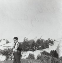 Image of Perfecto Marquez in the Marquez Family Cemetery - undated