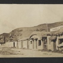 Image of Inceville Movie Studio in Pacific Palisades, early 1900s - early 1900s