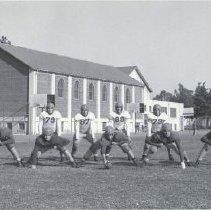 Image of Varsity Football Team, Santa Monica High School, 1944 - 1944