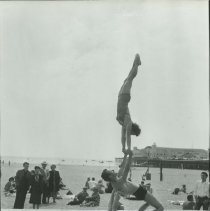 Image of Muscle Beach - mid 1900s