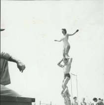 Image of A Practice Session at Muscle Beach - mid 1900s