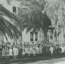 Image of Students at the Academy of Holy Names - unknown