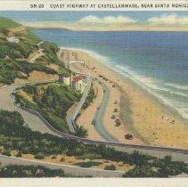 Image of Postcard of the Pacific Coast at Castellammare - circa 1936