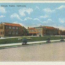 Image of Postcard of Venice High School - circa 1940
