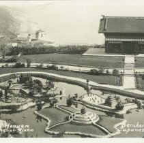 Image of Postcard of Bernheimer's Japanese Garden, Pacific Palisades - undated