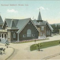Image of The Chapel at National Soldier's Home, Sawtelle - undated