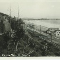 Image of Postcard of the California Incline - undated