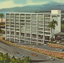 Image of Postcard of the Holiday Inn - undated