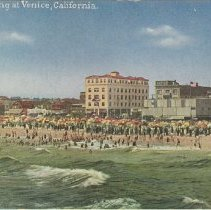 Image of Bathing at the Shore in Venice, CA - undated