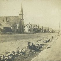 Image of Episcopal Church, Third Street and Santa Monica Boulevard - undated
