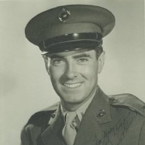 Image of Tyrone Power in Marine Corps Uniform - undated