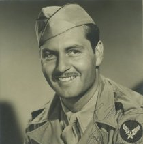 Image of George Montgomery in U. S. Army Air Corps Uniform - undated