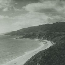 Image of View of Bluffs and Santa Monica Bay - undated
