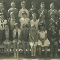Image of Sixth Grade Students at McKinley School, 1928 - 1928/02/16