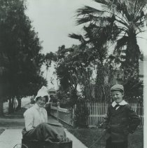 Image of On Second Street in Santa Monica, c. 1900 - circa 1900