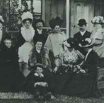 Image of Early English Community on Second Street, c. 1900 - circa 1900