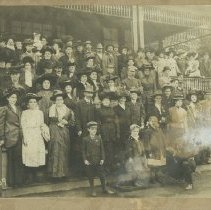 Image of Balloon Route Excursion Party, early 1900s - early 1900s