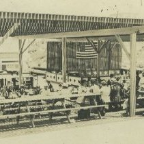 Image of Picnic Party on the Looff Pier - undated
