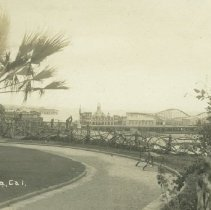 Image of Linda Vista Park and Looff Pier - undated