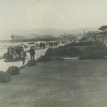 Image of A Southside View of the Looff Pier - undated