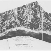 Image of Aeriel View of Beach Areas West of Santa Monica - undated