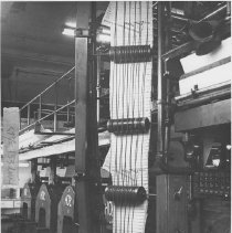 "Image of Printing Press for ""The Outlook"" Newspaper - undated"