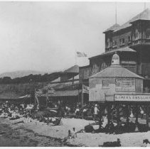 Image of The North Beach Bath House - late 1800s