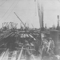 Image of Construction of Santa Monica Pier - 1913/02/04