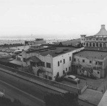 Image of Santa Monica Pier and Appian Way - circa 1950
