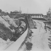 Image of A Southern Pacific Train - late 1800s