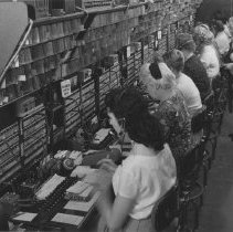 Image of Telephone Company Operators - undated