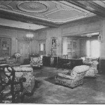 Image of Interior at Marion Davies Estate - undated
