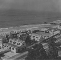 Image of Marion Davies Estate on Palisades Beach Road - undated