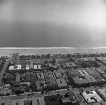 Image of Air view of Santa Monica
