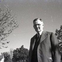 Image of Dr. William Soren Moretensen, MD in a Suit, 1941 - 1941