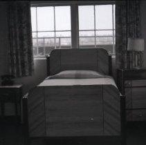 Image of Hospital Bed in Santa Monica Hospital, 1941 - 1941