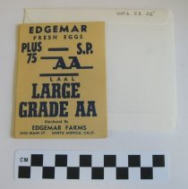 Image of Edgemar Farms & Imperial Ice Collection - Labels