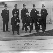 Image of Santa Monica Personnel Department of Police, 1907 - 1907