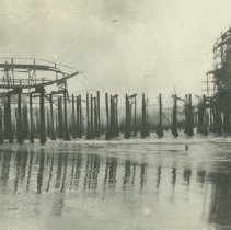 Image of Giant Dipper Destroyed by Pickering and Lick Pier Fire, 1924 - 1924