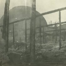 Image of Pickering and Lick Pier Fire Damage to Dome Theater, 1924 - 1924