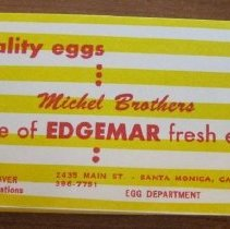 Image of Edgemar Farms & Imperial Ice Collection - Business Cards