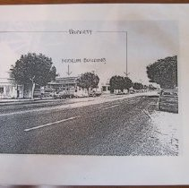 Image of Edgemar Porperty on Main Street, c1980 - 1980 circa