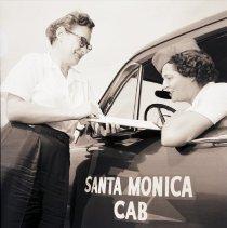 Image of Female Taxicab Drivers, circa 1948 - 1948 circa