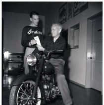 Image of Motorcycle Purchase, 1948 - 1948/09/04
