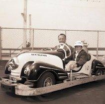 Image of Bumper Car Ride at Ocean Park Pier, 1949 - 1949/07/04