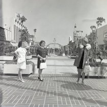 Image of Modeling on the Mall, circa 1969 - 1969 circa