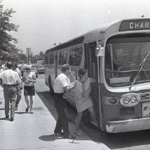 Image of Charter Bus, 1969 - 1969/07/16