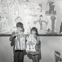 Image of Children at Charnley Nursery School, 1969 - 1969/06/04